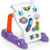 Andador Feliz Brinquedo Educativo Bebê Calesita Ref 902 Branco
