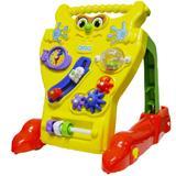 Andador Feliz Calesita Didático para Bebês Amarelo - 902