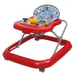 Andador Infantil com Regulagem Até 15 Kg Vermelho - Tutti Baby