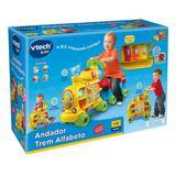 Andador Infantil Trem Alfabeto Som e Luz 80-076620 VTech - Yes toys