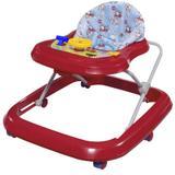 Andador Musical Tutti Baby Toy 0200324 - Vermelho