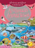 Animais aquáticos: Col. Adesivos metálicos reutilizáveis - Girassol