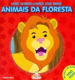 Animais da floresta: Livro quebra-cabeça com rimas - Blu