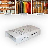 Anti Mofo Eletrônico Branco 220V 1 unid. Repel Mofo - Combate microorganismos, mofo, bolor - Capte