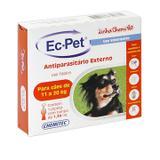 Anti pulgas cães Ec-Pet 1,34 Ml 11 a 20kg CHEMITEC