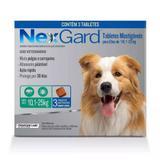 Anti pulgas e anti carrapato NexGard Mata Pulgas e Carrapatos G 10,1 a 25kg  3 Tabletes - Frontline labs