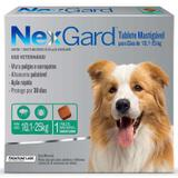 Anti Pulgas e Anti Carrapatos Nexgard Cães 10,1kg a 25kg - Merial