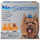Anti Pulgas e Anti Carrapatos Nexgard Cães 2 a 4kg - Merial