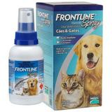 Anti Pulgas e Carrapatos Frontline Spray Cães e Gatos 100ml