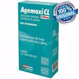 Antibiótico Cães E Gatos Agemoxi Cl 250mg 10 Comprimidos - Agener união