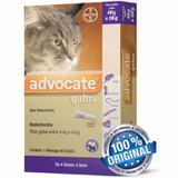 Antipulgas Bayer Advocate Para Gatos De 4 A 8 Kg Com 0,8ml
