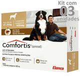 Antipulgas comfortis 1620mg caes de 27 a 54 kg kit 3 caixas - Elanco