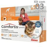 Antipulgas Comfortis 270mg Cães De 4,5 A 9 Kg Kit 3 Caixas - Elanco