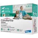 Antipulgas Comfortis 560mg Cães De 9 A 18kg E Gatos 5 A 11kg - Elanco
