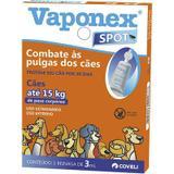 Antipulgas Coveli Vaponex Spot Cães Até 15kg 1 Bisnaga