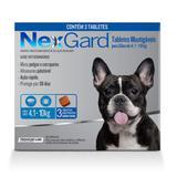 Antipulgas E Carrapatos Nexgard 28,3mg Para Cães De 4,1 A 10kg 3 Tabletes  Merial