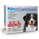 Antipulgas e Carrapatos Nexgard GG 25 a 50 kg-3 comprimidos - Merial