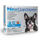 Antipulgas e Carrapatos Nexgard M 4 a 10 kg-1 comprimido - Merial