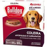 Antipulgas e Carrapatos para cães Coleira Bulldog - Coveli