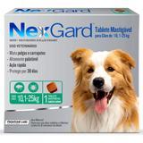 Antipulgas e Carrapatos para cães Nexgard 10,1 a 25kg - Merial