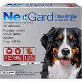 Antipulgas e Carrapatos para Cães Nexgard GG de 25,1 a 50kg Tablete Mastigável - Merial