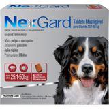 Antipulgas e Carrapatos para Cães Nexgard GG de 25,1 a 50kg Tablete Mastigável