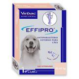 Antipulgas e Carrapatos Virbac Effipro 1,34 mL Cães acima de 40 Kg