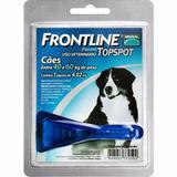 Antipulgas Frontline Topspot 40 A 60kg Cães - Pet Hobby - Merial
