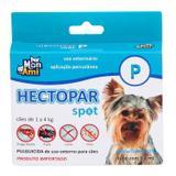 Antipulgas Hectopar Mon Ami (P) 0,4ml - Cães de 1 a 4kg