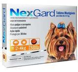 Antipulgas Nexgard Para Cães De 2 A 4 Kg - 3 Tabletes - Merial