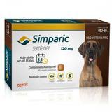 Antipulgas Simparic 120MG para Cães de 40,1 a 60k 1 Comprimido - Zoetis