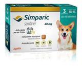 Antipulgas Simparic 40 Mg 3 Comp Caes 10,1 A 20 Kg  Zoetis