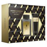 Antonio Banderas The Golden Secret Kit - Eau de Toilette + Pós Barba