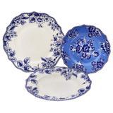 Aparelho de jantar Canterbury 18 peças em porcelana - 23246 - L hermitage