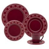 Aparelho de Jantar Chá Oxford Cerâmica Mendi Corvina - 30 Peças