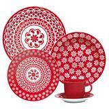 Aparelho De Jantar E Chá 20 Peças Floreal Renda 6404 Oxford Daily