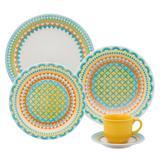 Aparelho de Jantar e Chá Daily Floreal Bilro 30 Peças J591-6770 Oxford