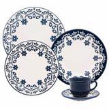 Aparelho de Jantar e Chá Oxford Daily Floreal Energy  20 Peças