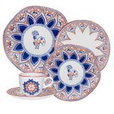 Aparelho De Jantar Oxford Barcelos Ryo 20 Peças Porcelana