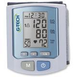 Aparelho de Medir Pressao Digital G-Tech BPRW450, 100 Memorias, Pulso - Branco