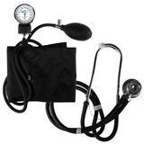 Aparelho de Pressão Analógico para Braço More Fitness MF-233 com Estetoscópio - Preto - Grupo save