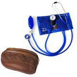Aparelho De Pressão Com Estetoscópio Azul Marinho Bic