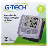 Aparelho Medidor de Pressão Digital Pulso G-Tech GP300
