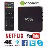 aparelho para transformar tv smart mx9 4k android 7.1 netflix youtube