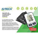 Aparelho Pressao Digital Automático De Braço Modelo Bspii G-tech