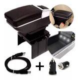 Apoio Descanso de Braço Universal C/ Porta Objetos e 4 USB - Bombauto store