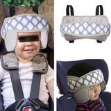 Apoio Suporte Cabeça Proteção Criança Infantil Veiculo Carro Cinza - Kakiblin