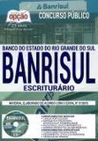 Apostila - Escriturário - Concurso Banrisul 2019 - Editora Opção