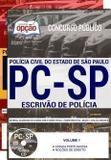 Apostila Pc Sp 2018 Escrivão De Polícia - Editora Opção