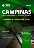 Apostila Prefeitura Campinas SP 2019 Agente Administrativo - Nova concursos